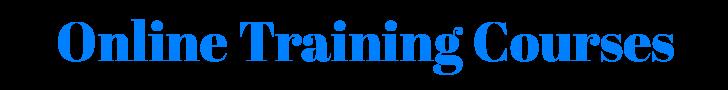 Online Training Courses